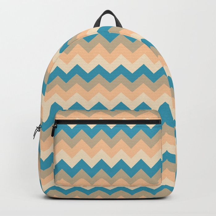 Colorful Chevron Pattern IV Backpack