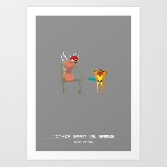 Super Mother Hunter Art Print