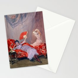 James McNeil Whistler Milly Finch Stationery Cards