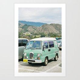 Van Life VII Art Print