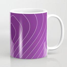 Nurturing Heart Purple Love Design Coffee Mug
