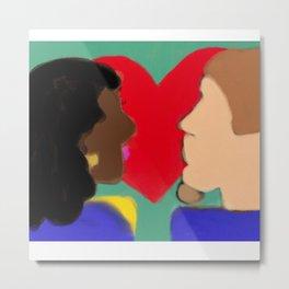 Heart of Love Series 2 Metal Print