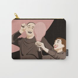Theatre mime Carry-All Pouch
