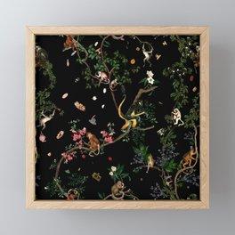 Monkey World Framed Mini Art Print
