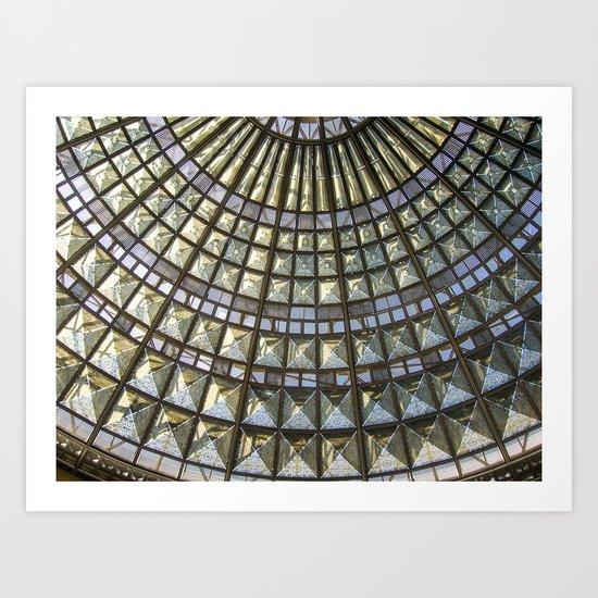 Union Station Skylight Art Print