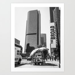 The Broad LA Art Print