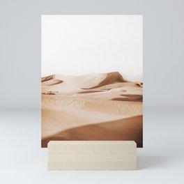 Minimal Warm Desert Mini Art Print