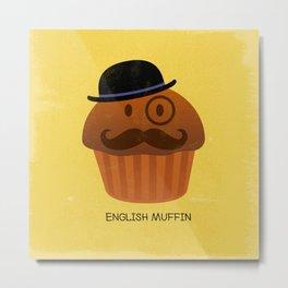 English Muffin Metal Print