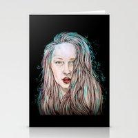 goddess Stationery Cards featuring Goddess  by Jenn