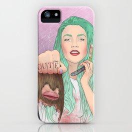 cut(e) iPhone Case