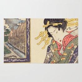 Geisha women Rug