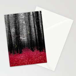 Firefly-red Stationery Cards