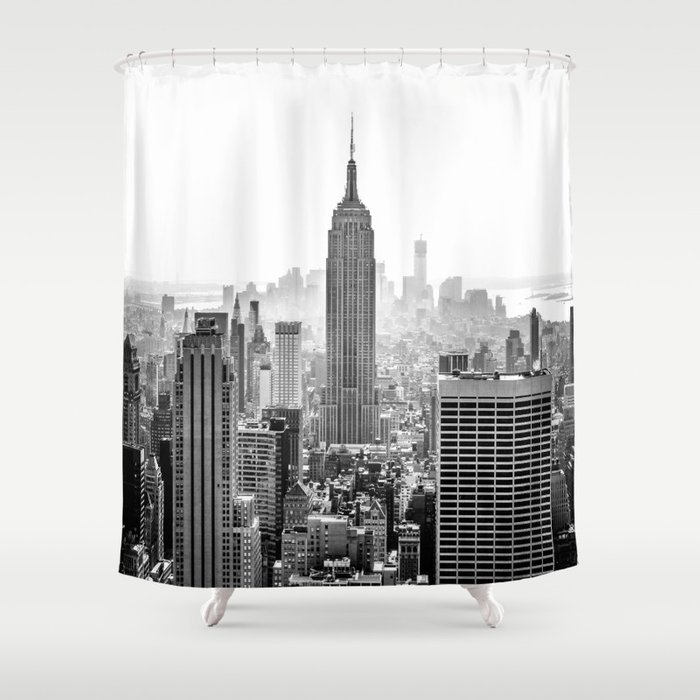 New York City Shower Curtain by lauracpcs | Society6
