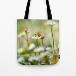 Hight mountains flowers Tote Bag