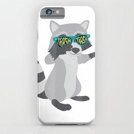 Raccoon Trash Panda Funny Animal Meme T Shirt iPhone Case