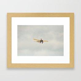 Blériot XI Hyeres449-2010 aircraft aviation  Framed Art Print