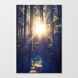 Sunset Trail Canvas Print