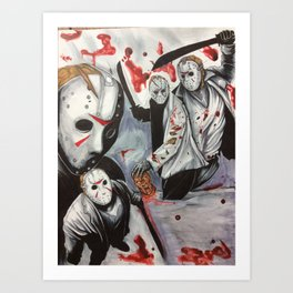 Born On A Friday Art Print