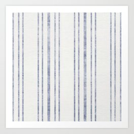 AEGEAN MULTI STRIPE Art Print