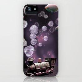 Tren Burbuja iPhone Case