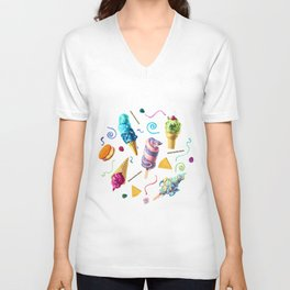 All Mutts Summer Flavours Unisex V-Neck