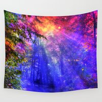 once upon a  time Wall Tapestries featuring Once upon a time by haroulita