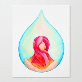 Tear Drop-Vivid Canvas Print