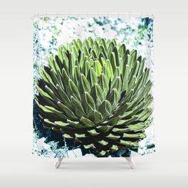 Nature Mandala_1.1 Shower Curtain