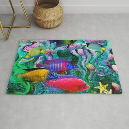 Tropical Collage Rug