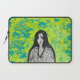 neon girl Laptop Sleeve