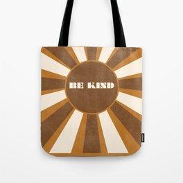 Be Kind brown Tote Bag