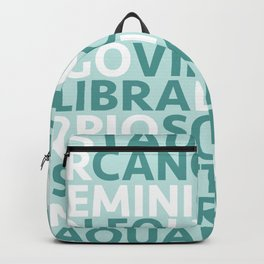 Star Signs Backpack