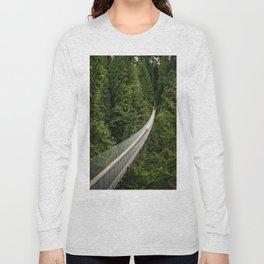 Capilano Suspension Bridge Long Sleeve T-shirt
