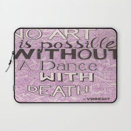 No Art Is Possible Laptop Sleeve