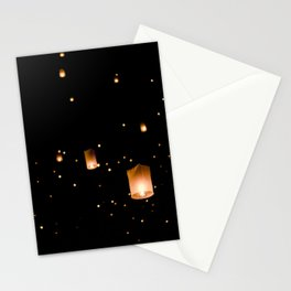 Lanterns in Thailand  Stationery Cards