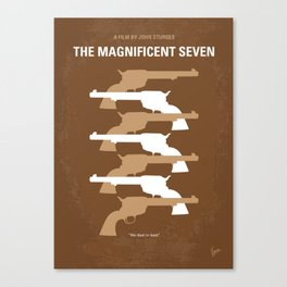No197 My The Magnificent Seven mmp Canvas Print