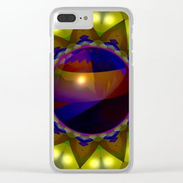 Bowl in the hole ... Clear iPhone Case
