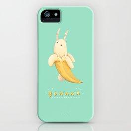 Bunana iPhone Case