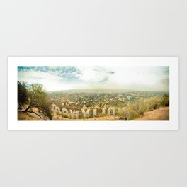 This is L.A. Art Print