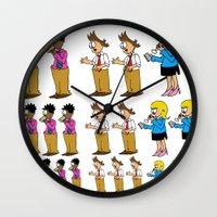 greg guillemin Wall Clocks featuring Greg + 2012 by Reid