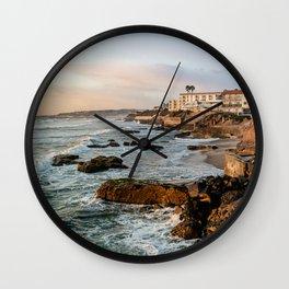 Sunset Ocean Beach Wall Clock