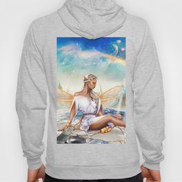 Virgo OC - 12 Zodiac Ladies Hoody