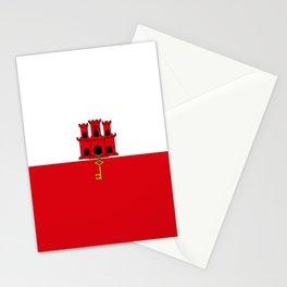 flag of Gilbraltar Stationery Cards