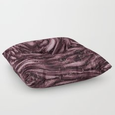 Rosewood velvet gem Floor Pillow