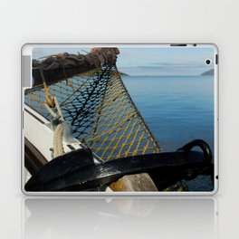 Sailing Through the Narrows Mull Scotland Laptop & iPad Skin