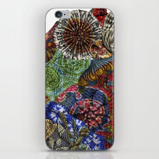 Psychedelic Botanical 3 iPhone & iPod Skin