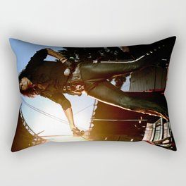 Alice Cooper Fence Stance Rectangular Pillow