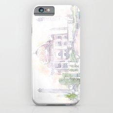 Watercolor landscape illustration_India - Taj Mahal Slim Case iPhone 6s