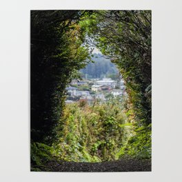 Traveling Through To A Magical Land Poster
