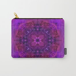Peaceful Plum (Mandala)  Carry-All Pouch